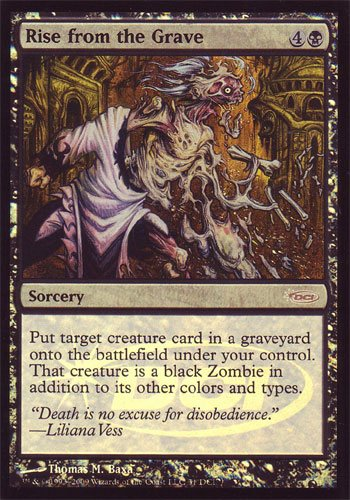 (Promo DCI Foil - Rise from the Grave (Magic the Gathering)