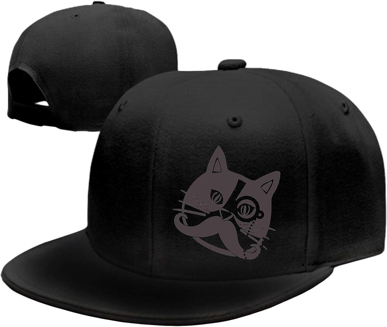 Unisex Gorilla Agro Cool AFFE Washed Cotton Baseball Cap Vintage Adjustable Dad Hat