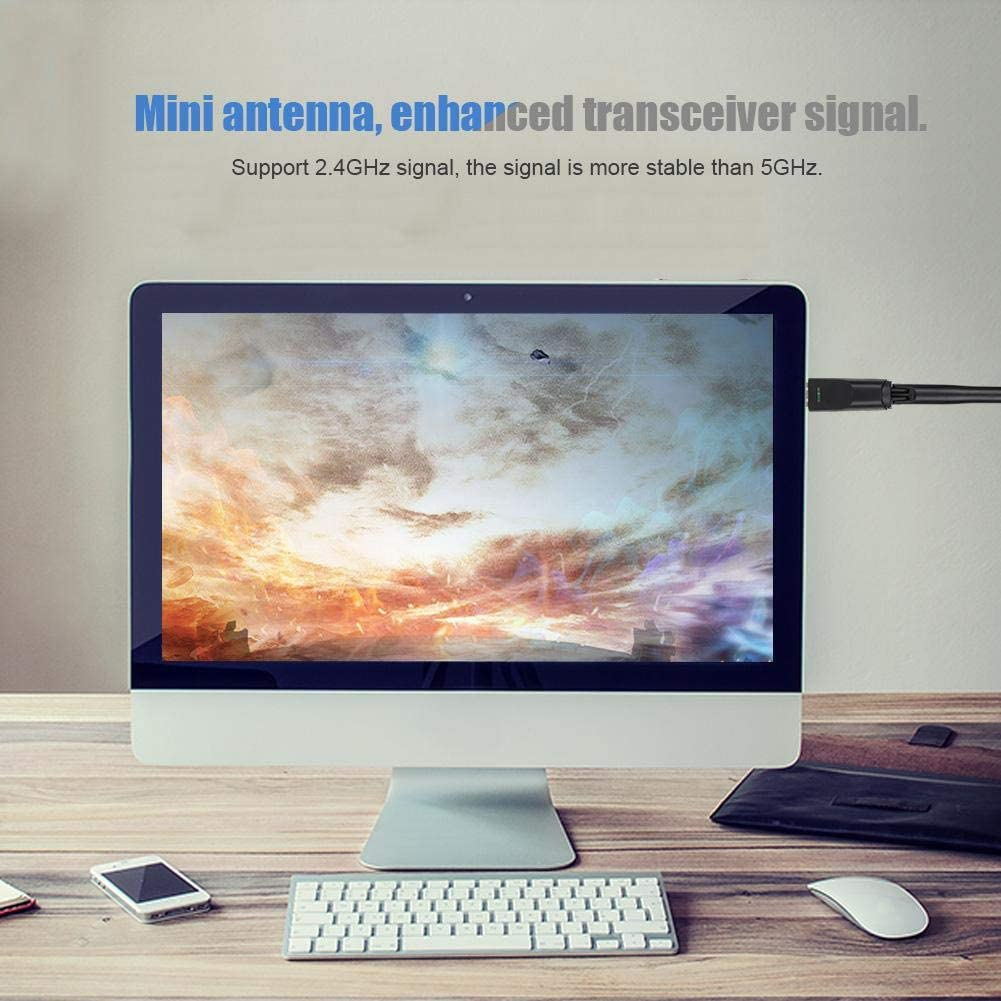 MAC//Linux 802.11 b//g//n LAN USB2.0 Interface Wireless Network Card Adapter for Laptop Support for Windows XP//Vista 7 Tangxi 2.4Ghz USB Wireless Network Adapter