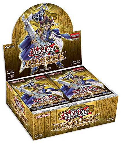 Konami Yu-Gi-Oh Duelist Pack: Rivals of the Pharaoh Booster Box by Konami