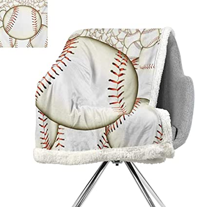 Terrific Amazon Com Baseball Cozy Flannel Blanket Pattern Of Dailytribune Chair Design For Home Dailytribuneorg