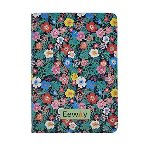 Daily Planner Calendar Schedule Organizer and Journal Notebook,Non Dated Day (7.48in5.31in, Black Tropical) - Calendars, Organizers & Planners