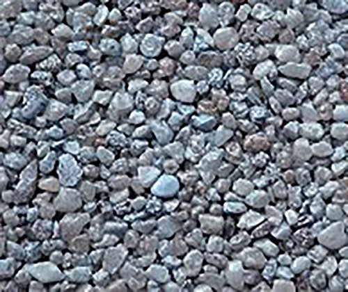Safe & Non-Toxic {Small Size, 0.12'' Inch} 10 Pound Bag of Gravel & Pebbles Decor Made of Genuine Quartz for Freshwater Aquarium w/ Simple Earthy River Inspired Trendy Natural Style [Blue & Gray] by mySimple Products