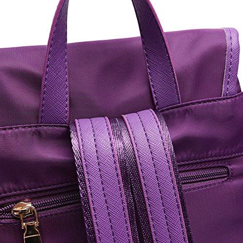 Sra bolsos de hombro/Mochila viento de la universidad/Oxford tela de la mochila de gran capacidad-A A