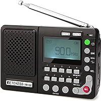 Retekess TR102 Shortwave Radio Portable AM FM Radio MP3 Player Support TF Card Digital Record Sleep Timer and…