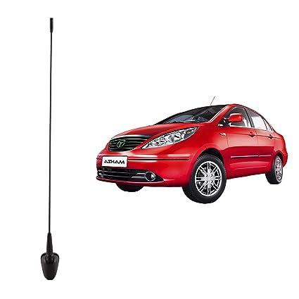 Autofy AM/FM Car Antenna for Tata Indigo Manza (Black)