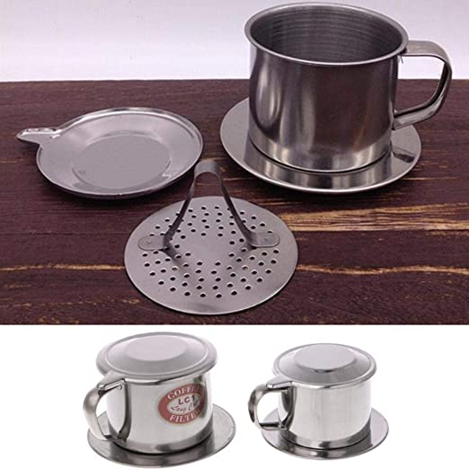 LASISZ Filtro de café vietnamita Máquina de infusión de Olla de ...