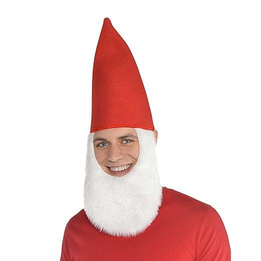 e3eb9b512fe Amazon.com  Gnome Hat with Beard  Clothing