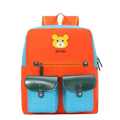 Haute Qualité Enfants Cartable / élèves épaules Sac / Sac à Dos Enfants/ Orange