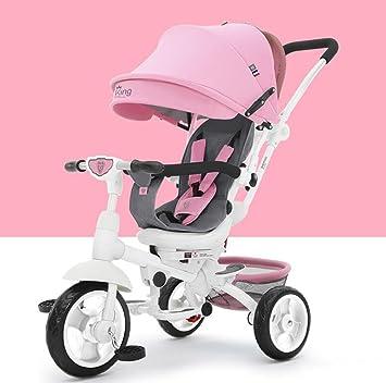 Carrito de bebé Triciclo de los niños, Carro de la Bicicleta Bicicleta del bebé Carro