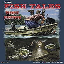 Buck Wear's Fishing Tales 2019 Wall Calendar