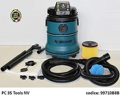 Aspirador automático con toma para herramientas eléctricas GISOWATT PC35 TOOLS NV: Amazon.es: Industria, empresas y ciencia