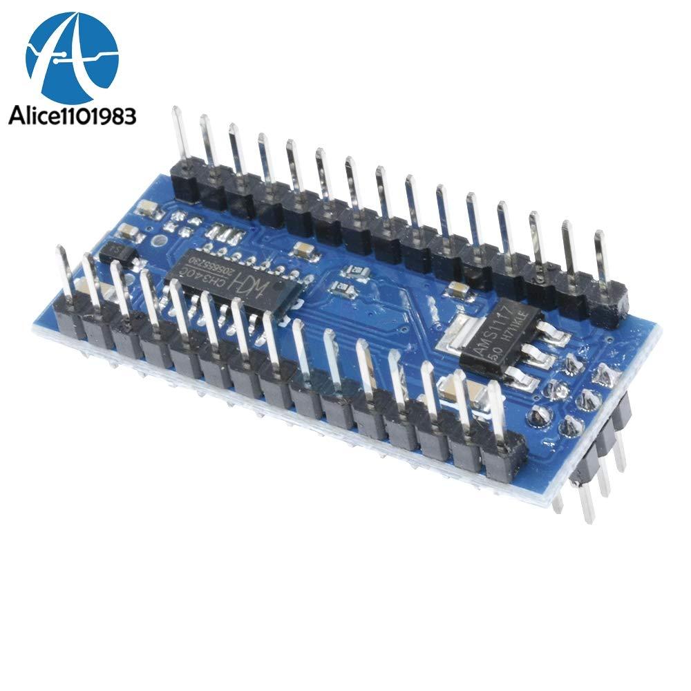Color: Board with Cable Muccus ATmega328 ATmega328P CH340g CH340 Nano V3.0 3.0 Mini USB Driver 5V 16M 16MHZ Micro Controller Board for Arduino Module USB Cable