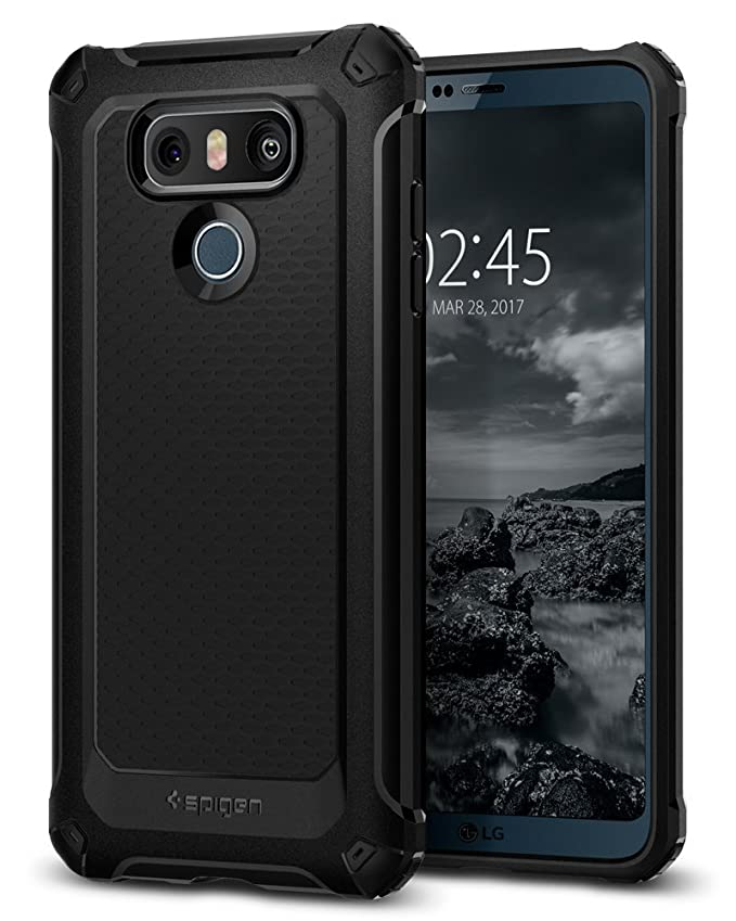 Spigen - Funda rígida para LG G6, Color Negro: Amazon.es: Electrónica