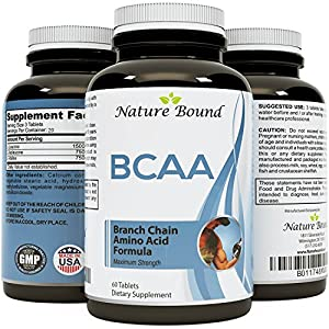 California Products Best BCAA Supplement with Amazing Bodybuilding + Pre Workout Results and Pure Branched Chain Amino Acids L Leucine + Food Grade Formula for Men and Women