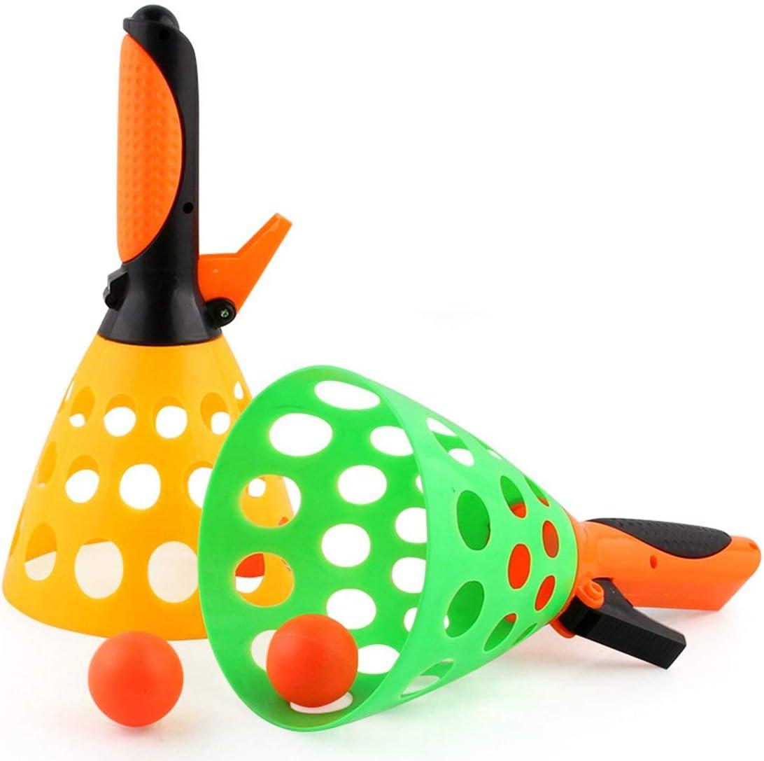 1 Juego Entre Padres e Hijos, Bola de Lanzamiento de Tenis de Mesa, Juguete niños. Bolas de Goma interactivas al Aire Libre. Juguetes de Pelota de Ping Pong.: Amazon.es: Deportes y aire