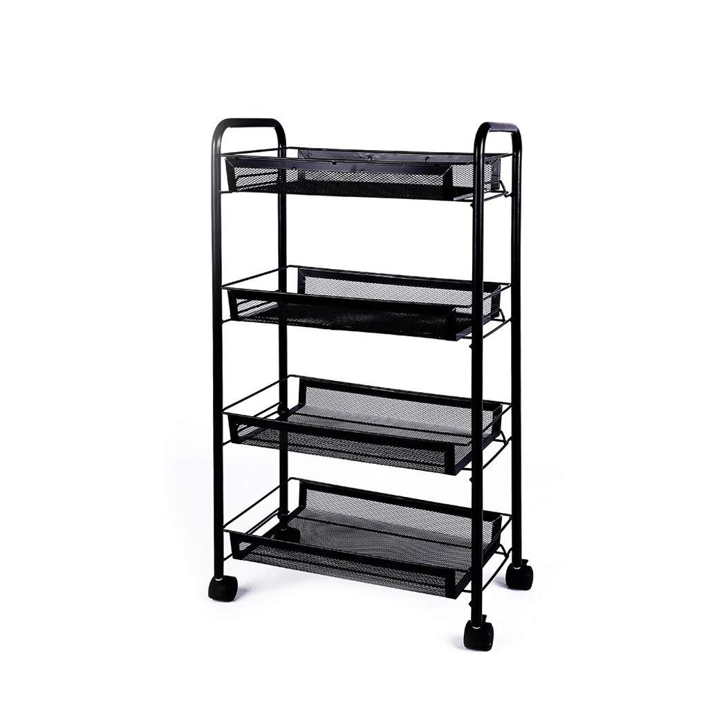 Large Shelf, European Home Floor Multi-Layer Storage Rack Removable Bedroom Storage Rack (Size   L)