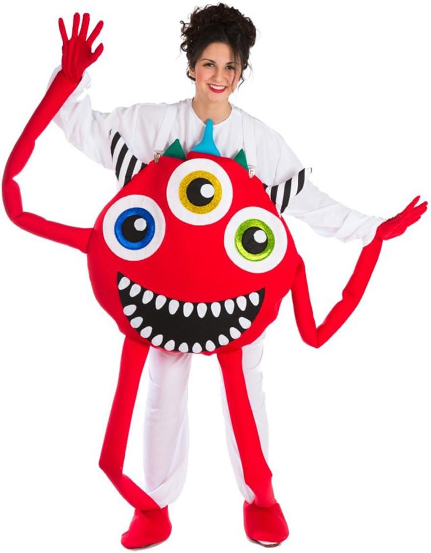Disfraz de Monstruo rojo para adultos: Amazon.es: Juguetes y juegos