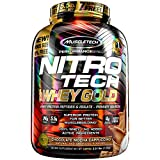 MuscleTech NitroTech Whey Gold, 100% Whey Protein Powder, Whey Isolate and Whey Peptides, Chocolate Mocha Cappuccino, 5.5 Pound Review