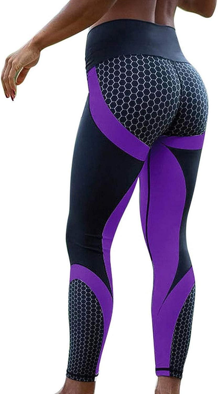 Robert Reyna Fashionable Mesh Pattern Print Fitness Sporting Workout Leggins Elastic Slim Black White Pants
