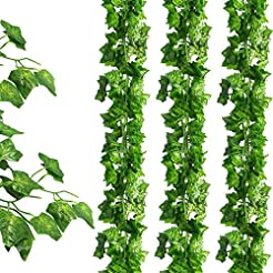JPSOR 24 Pack (79 Inches Each) Fake Ivy ...