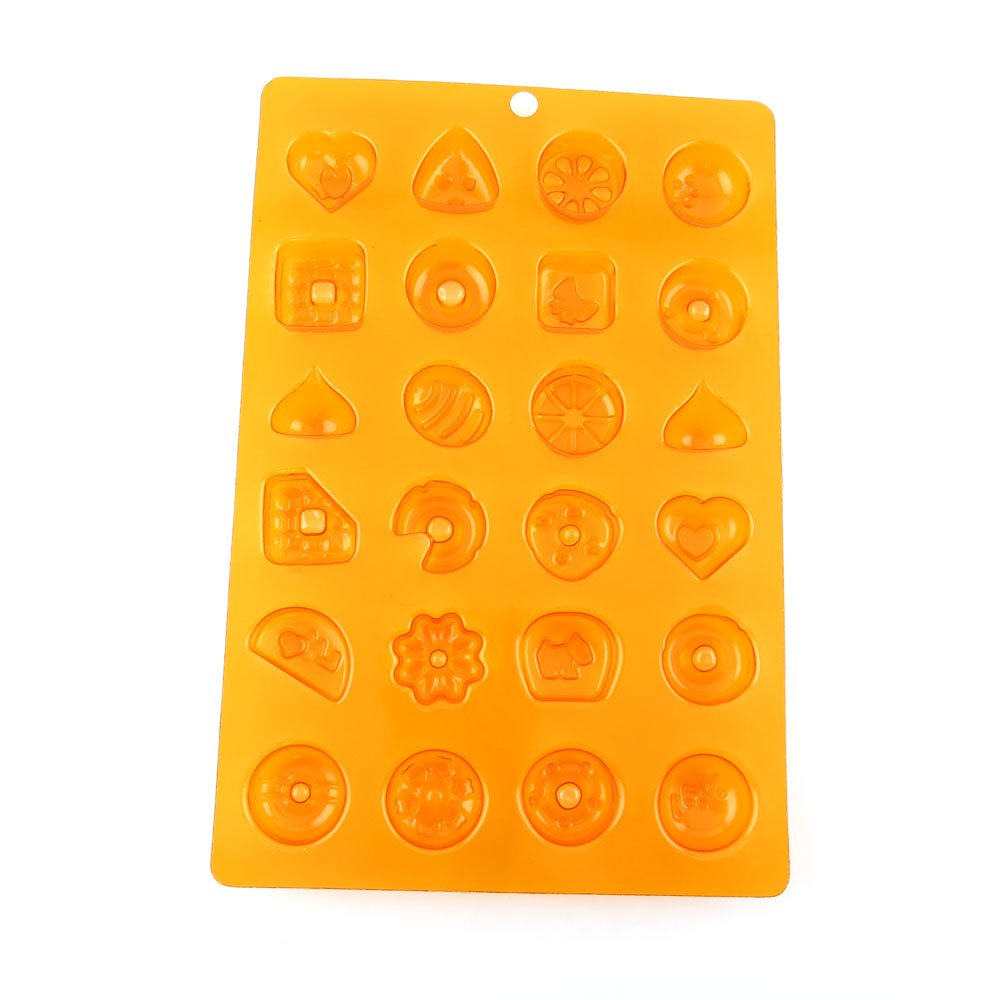 100 PCS Chocolate Molds Baby Shower Candy Making Supplies Jelly Maker Wholesale BP008 Heart Animal Mixed