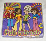 Polly Pocket Lunch Napkins 16ct by Party America