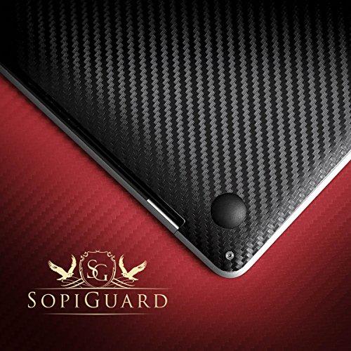 SopiGuard Matte Gunmetal Gray Full Vinyl Skin for Apple Macbook Pro 13 Retina