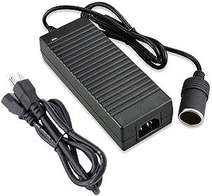 Digit.Tail 12V/10A 120W Power Inverters AC to DC Adapter [110V/110V-240V to 12V] Car Cigarette Lighter Socket Converter for Car Refrigerator/Vacuum/Diffuser/Inflator, Electric Fillet Knife and More