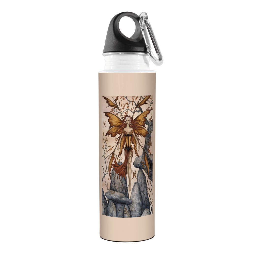 The Arrival Fairy Tree-Free Greetings VB47602 Amy Brown Fantasy Artful Traveler Stainless Water Bottle 18-Ounce