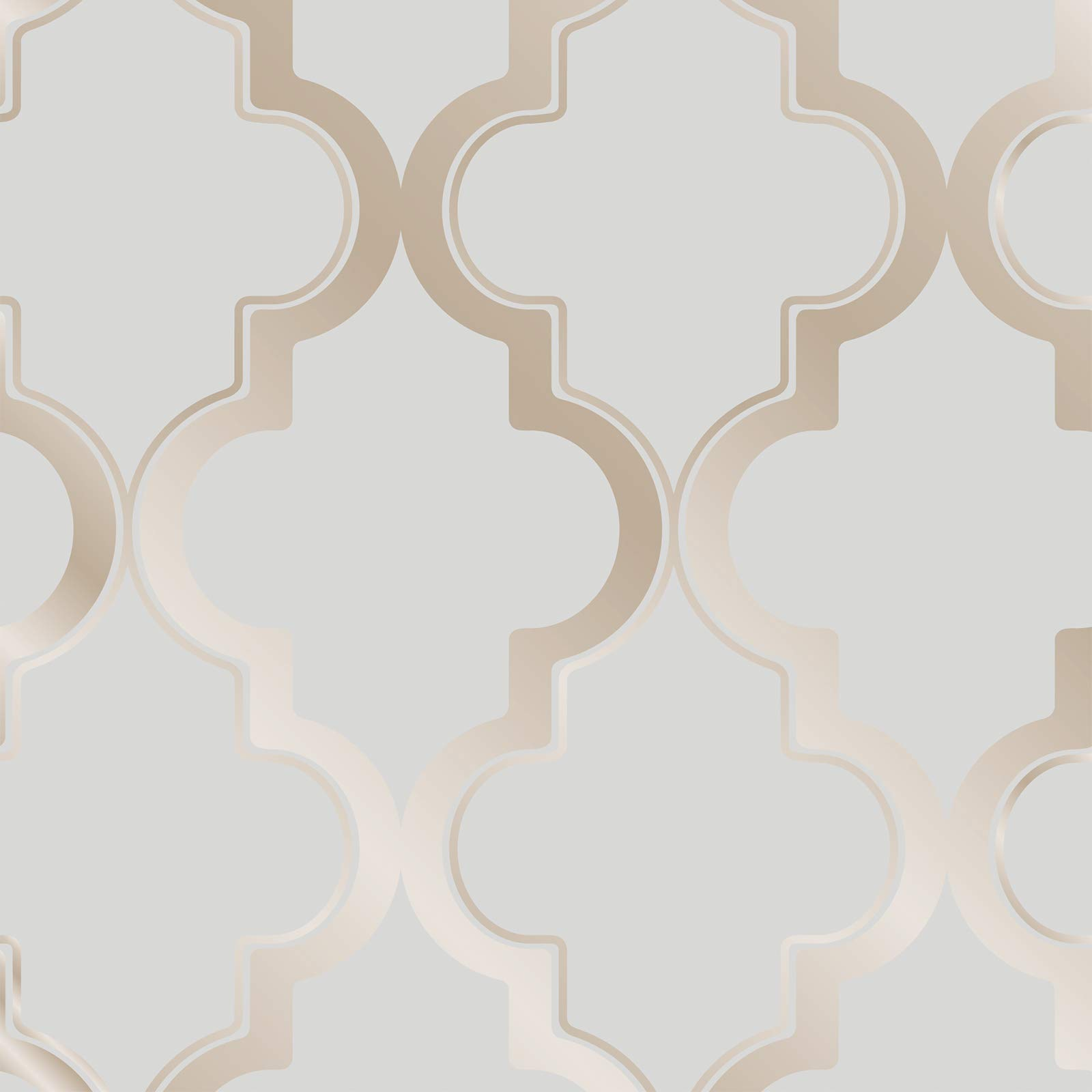 Tempaper Bronze Gray Marrakesh | Designer Removable Peel and Stick Wallpaper by Tempaper