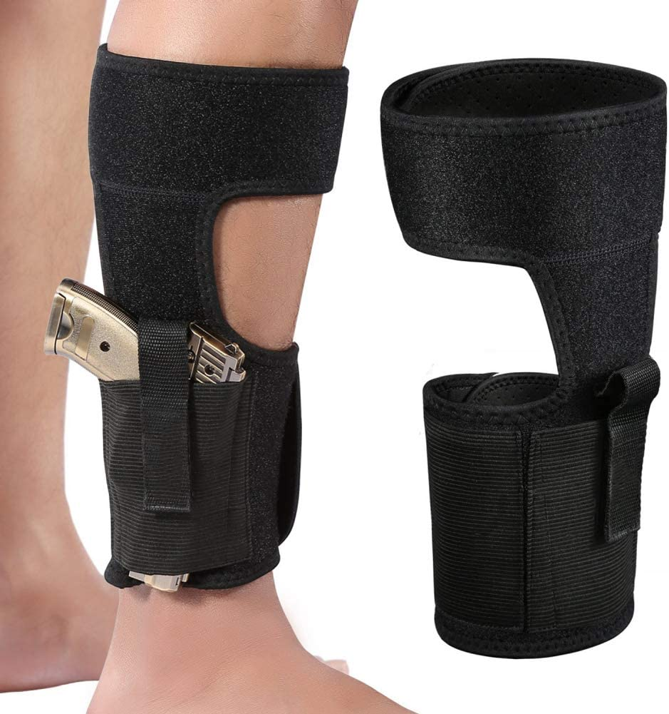 """Leg Ankle Holster w// FREE  7/"""" Airsoft Spring Pistol"""