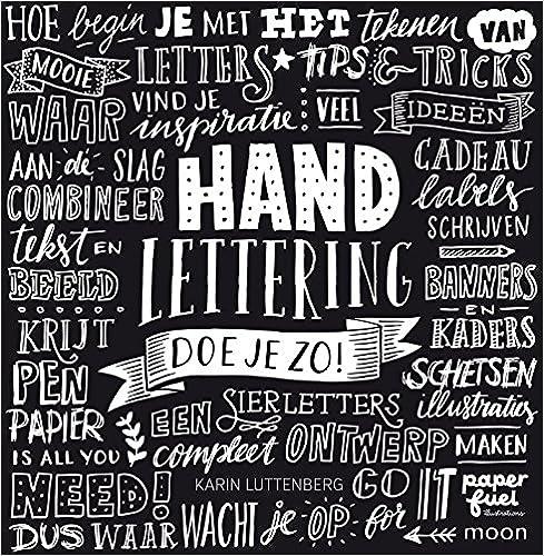 Wonderbaar Amazon.com: Handlettering doe je zo! (Dutch Edition JZ-68