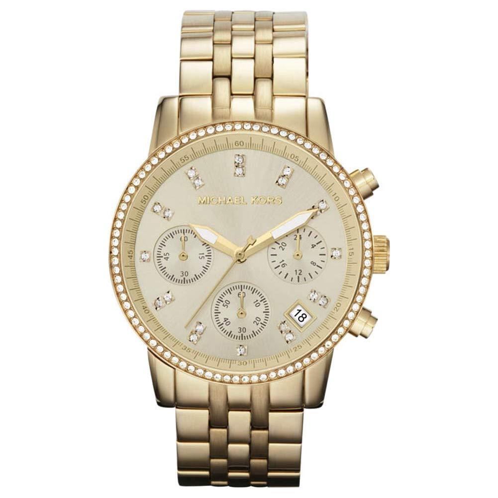 Michael Kors MK5698 Damen Armbanduhr: : Uhren