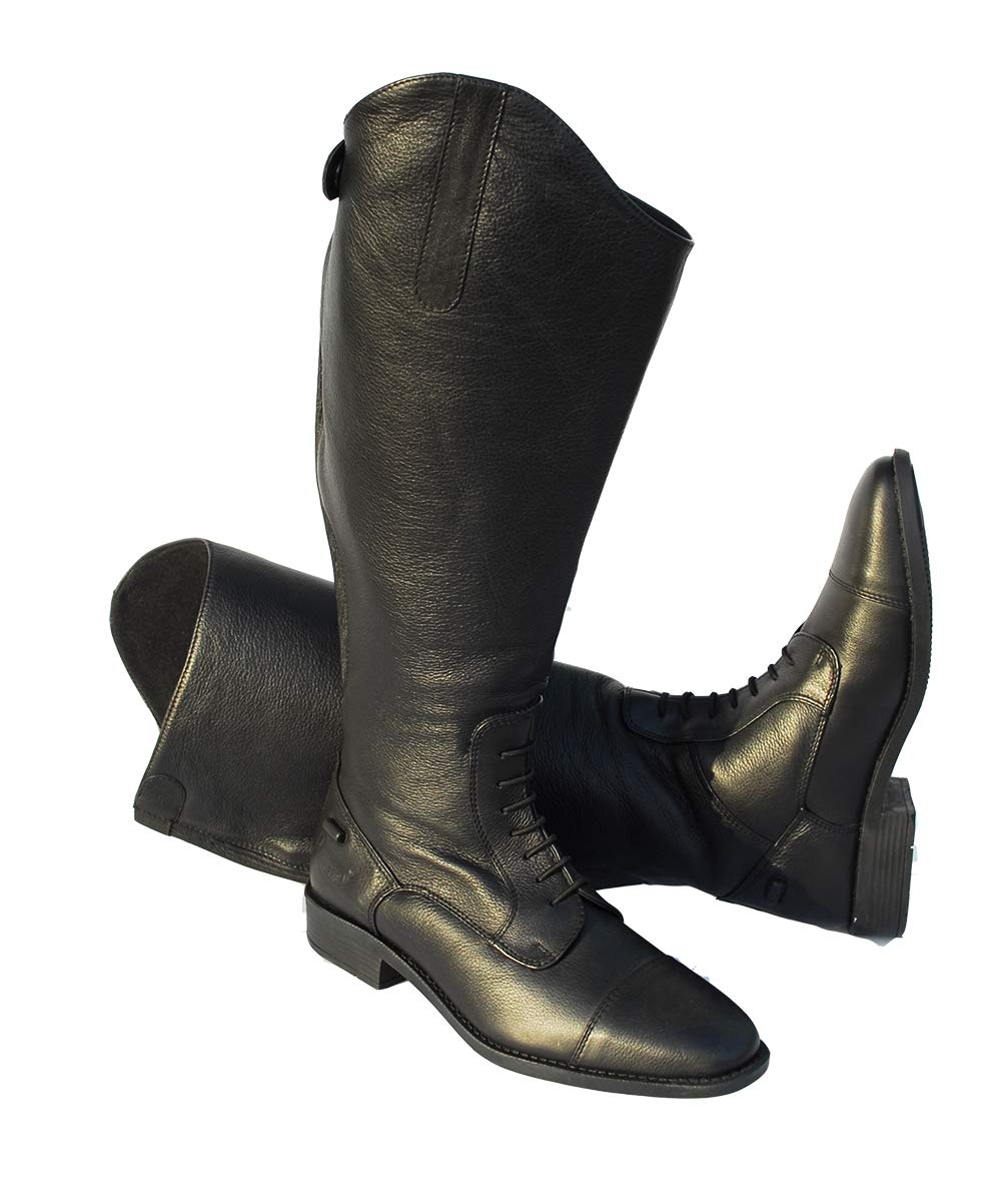 Rhinegold XW Luxus Leather Laced Riding Boot