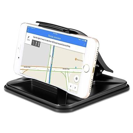 Soporte de teléfono móvil para coche, salpicadero de coche para iPhone X 8 Plus 7