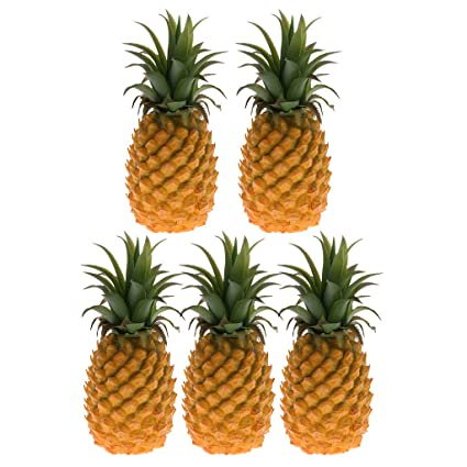 Buy Homyl 5pcs 23cm Lifelike Artificial Pineapple Decorative Fruits