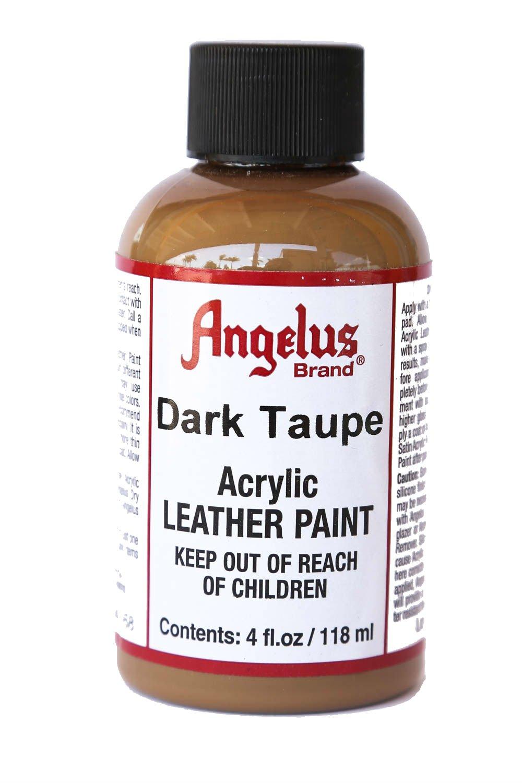 Angelus レザー用ペイント 4 Ounces ブラック B00CS5FYR4 4 Ounces ダークトープ ダークトープ 4 Ounces