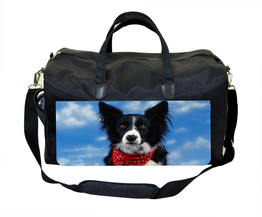 Jacks Outlet Border Collie with Bandana Gym Bag