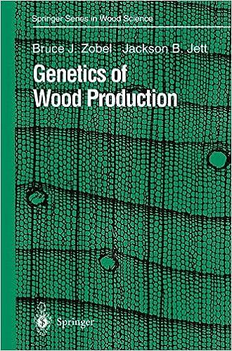 Genetics of Wood Production (Springer Series in Wood Science)