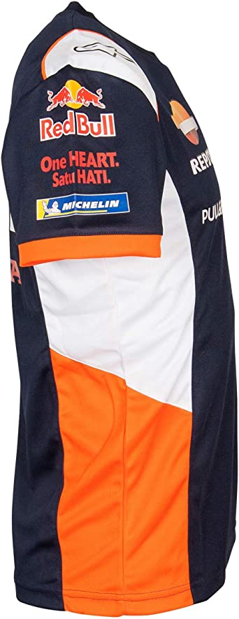 Whybee 2019 Marc Marquez Herren T-Shirt #93 Rot//Grau HRC MotoGP Merchandise