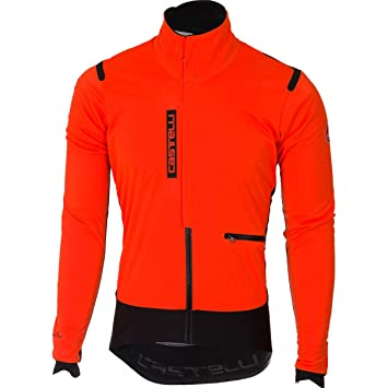 Amazon.com : Castelli 2017/18 Mens Alpha ROS Cycling Jacket ...