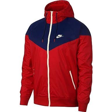 Nike Mens Windrunner Hooded Track Jacket University Red/Blue ...