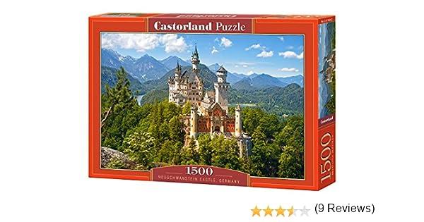Castorland Neuschwanstein Castle 1500 pcs Puzzle - Rompecabezas ...