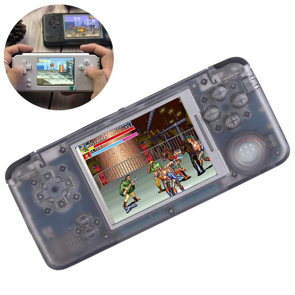 LayOPO Console de Jeu Portable – Console de Jeu vidéo améliorée de 16 Go 7,6 cm 3 Pouces intégrée 3000 Jeux, Support CPS/NEOGEO/GBA/SFC/MD/FC Cadeaux d'anniversaire pour Enfants/Enfants/Adolescents