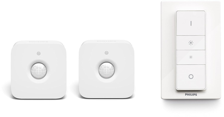 Philips Hue Pack de sensores de movimiento y mando hue controlables vía