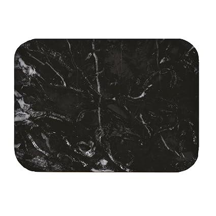 Zak - Bandeja de osmos mármol Negro/Blanco 40x30cm