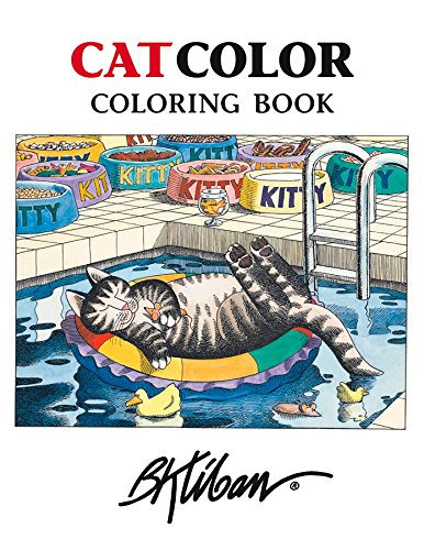 Pomegranate Communications, Inc. Cat Gifts for Cat Lovers Crazy Cat Lady Gifts 25 Page Cat Coloring Books with Images by Kliban -25 Images