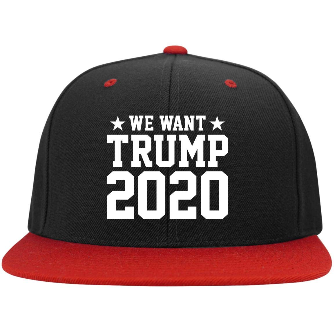 High-Profile Snapback Hat The People Have-Spoken We-Want-Trump 2020 Twill Cap Trucker Hat