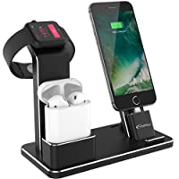 Deals on YoFeW Apple Watch Stand Aluminum 4 in 1 Apple Watch Charger Dock